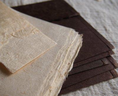 画像3: ネパール手漉紙[紙織〜しおり]BR1