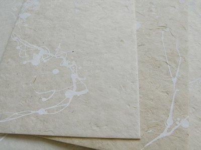 画像3: ネパール手漉紙カードセット・枯華