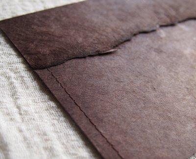 画像2: ネパール手漉紙[紙織〜しおり]BR1