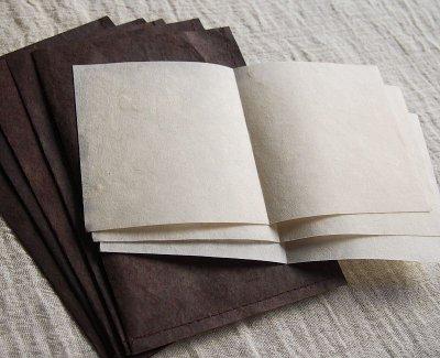 画像1: ネパール手漉紙[紙織〜しおり]BR2