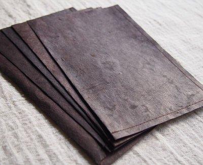 画像2: ネパール手漉紙[紙織〜しおり]BR3