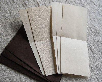 画像1: ネパール手漉紙[紙織〜しおり]BR4