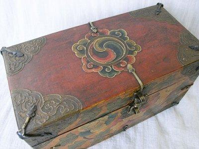 画像2: チベットアンティーク風小箱・A
