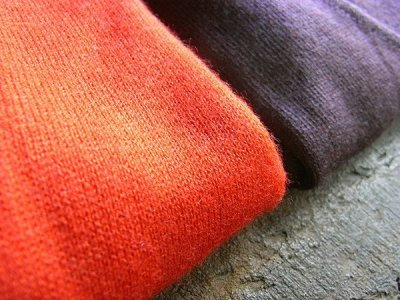 画像3: [レディース]カシミヤシルク Vネックセーター・紫[L]
