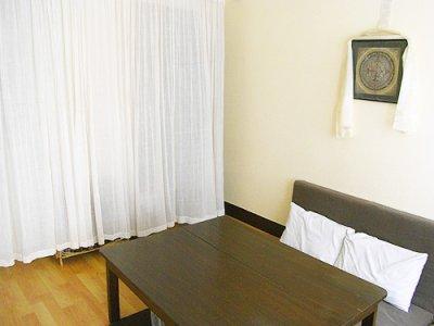 画像2: カーテン布[インド綿布]180cm巾×2.5M