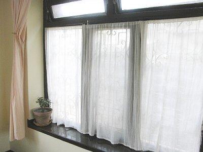 画像3: カーテン布[インド綿布]180cm巾×2.5M