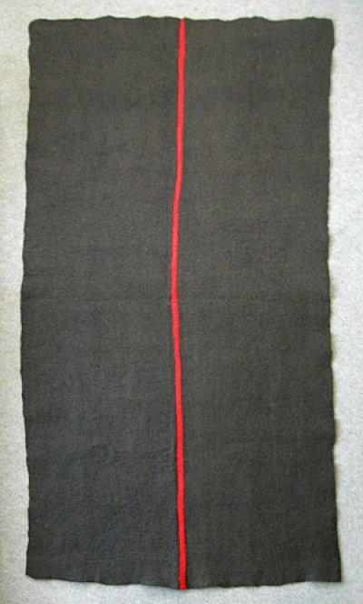 画像2: ピュアウール・フェルトラグ[茶]100×200cm