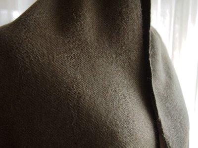 画像1: カシミヤウールブランケット・カーキ[115×200cm]