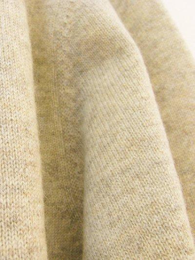 画像3: [メンズ]カシミア Vネックセーター・墨[XL]